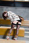 Jeny smith flashing nylons in public