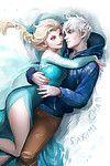 Elsa frozen act of love comics