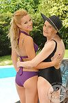 The almost all ecstatic clammy milfs and lusty matures take part in some mind-blowing girl-on-girl se