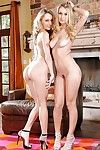 Natasha Starr with her wild girlfriend will make u rod massive as tock