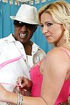 MILF hottie Phyllisha Anne has interracial fucking action with a vast ebony pecker