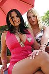 MILF hottie with massive hooters Sophia Lomeli obtains a surprise bukkake
