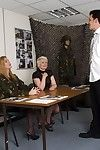 Sergeant Take up with the tongue and Recruiter Sally have had a slow day trying to persuade juvenile gentlemen to couple the army. When shy boyish sub Ralph walks in to enquire about enlisting they talk him in duration each thing this chab hungers after t