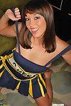 Midori west is a wildcat cheerleader
