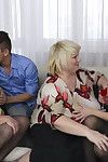 Triple raunchy housewives sharing one intense knob