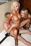 Milf gal with major average milk cans Krystal Steal sleeps with tough in high heels