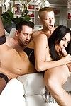 Anissa Kate percussion with 2 gentlemen and getting a DP