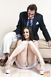 Hardcore anus smoking scene with an young brunette hair amateur Gracie Glam