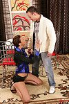 Fashionable Kitty Jane gives a excellent oral play and scores cream in her maw