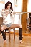 Flexy infant with hope legs Leanna Beautiful uncovering her seductive changes direction