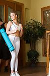 Mia malkova has intercourse her private coach to please her companion