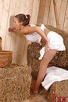 Boobsy farm beauty Bonnie Shai giving a oral sex at the local gloryhole