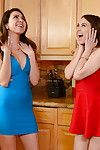 Mamas and nubiles orally fixating major knobs featuring Melissa Moore and Riley Reid