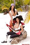 Extreme porn pirates smokin\' in tropic sexual act adventures