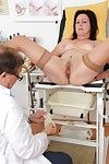 Mature lady Simi having her ready cage of love examined ta gyno office