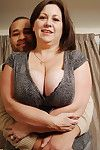 MILF with gigantic billibongs getting pounded