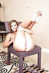 Keisha Grey amplifying her legs so that everyone can gaze at her love-cage