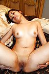 Lecherous indian courtesan accepts a sperm stream on her hairless wet crack