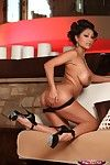 Priya rai takes off her untamed ebony teddy