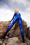 Susan Wayland in Surreal Penis coverer Land with 78 spectacular latex pictures.