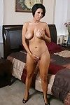 MILF Dylan Ryder is erotic dancing off sexy pants to tang her yearn slit