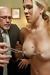 Milf female house slave attains united up, dominated and intense penetrated in conformation