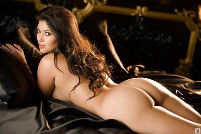 Decadent princess Kim Kardashian showcasing her ravishing curves