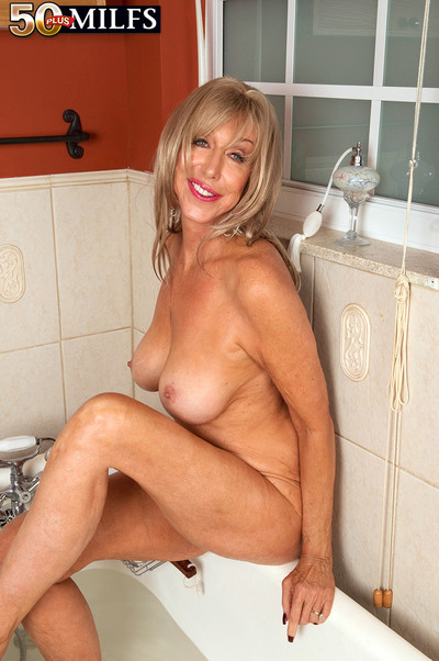 Our oldest milf ever in solo sex pics