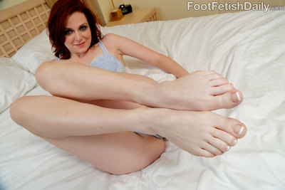 Emma is geared up to give her man a footjob satisfy he has never had. She strokes is intense cock back and forth with her prefect feet before letting him ram her bawdy cleft with his giant cock. When hes finally geared up to blow his load, this girl asks