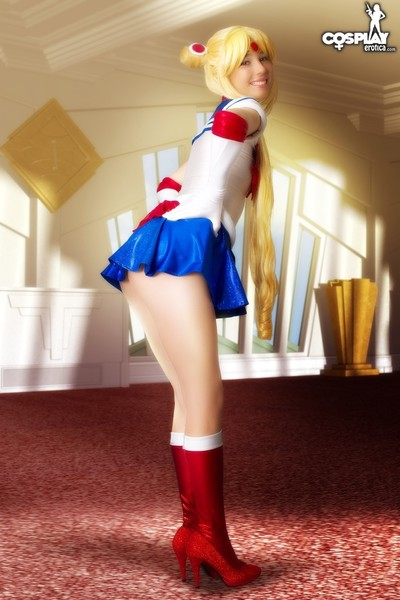Cosplayerotica  sailor moon nude cosplay