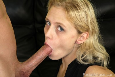 Young acquires nasty facial cumshot