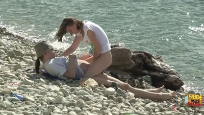 Wife purchases fucked by stranger on swingers naked beach gathering