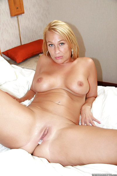 Gorgeous MILF Mellanie Monroe accepts  her love-cage creampied after fervent orgy