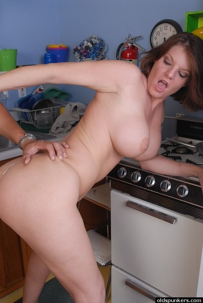 Busty mature taking hardcore interracial very of smooth on top pussy in kitchen