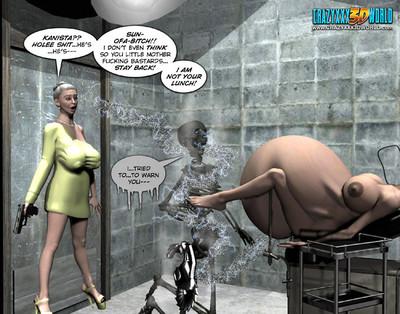 Strange adult comics