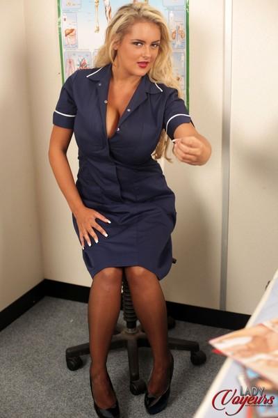 Sperm bank inspection featuring katie thornton