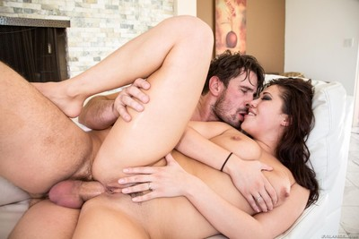Wide ass breach of london keyes is shoved with the rod nd then she gets loads of c