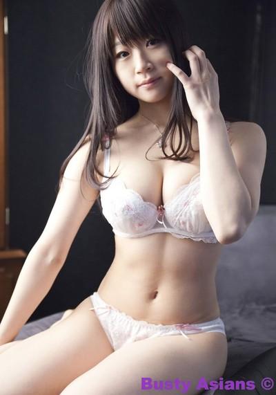 Biggest tits japanese model miduki momoko wearing sensual underclothes