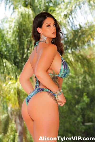 Alison tyler in her hot bikini