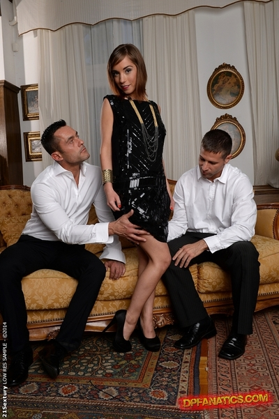 MMF copulation features once in a time penetration of European babe Tina Hot