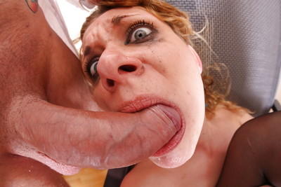 Beautiful office slut Anita Vixen eats her boss
