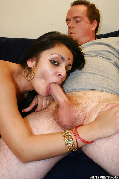 Busty indian babe gives a facefucking and gets her cunt slammed hardcore