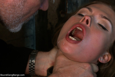 Russian mail order bride locked in basement & used as banging submissive for her partner