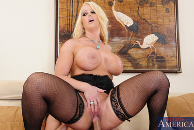 Alura Jenson is ache and disappointed so she makes a decision to fuck younger cock.