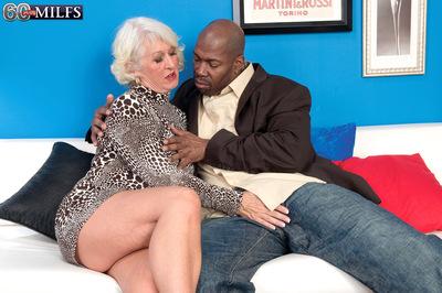 Jeannie Lous Big Brown Cock Creampie