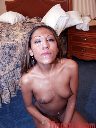 Exotic cutie jasymne gives wet cumcovered. cumspread blowjob