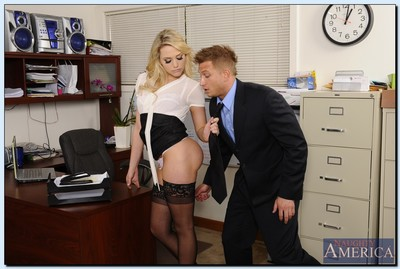 Lewd office doll in  Mia Malkova obtains fucked at her work place