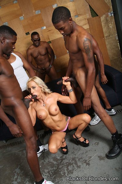 blacks on blondes set 3