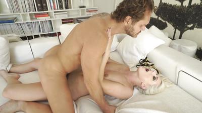 Fairy slut Blanche Bradburry giving hardcore oral pleasure pleasures upon big cock