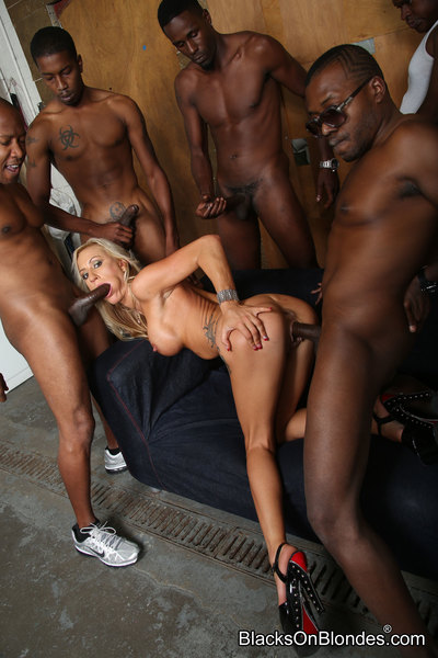 blacks on blondes set 3